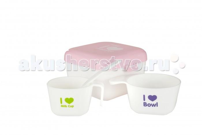 Аксессуары для кормления , Посуда Farlin Полезный контейнер Bentoo для еды арт: 376049 -  Посуда
