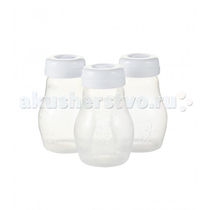 Контейнеры Farlin Бутылки для хранения и заморозки грудного  молока или хранения детского питания 3 шт.