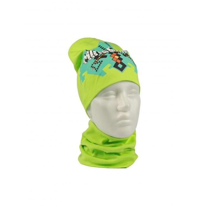 Шапки, варежки и шарфы Fate Style Комплект (шапка, снуд) КМДП-4