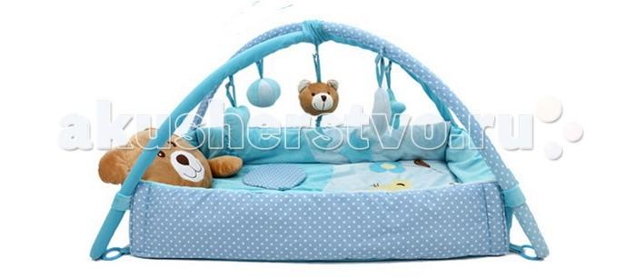 Развивающие коврики Felice Плюшевый мишка игровой коврик умка квадратный с мягкими игрушками на подвеске
