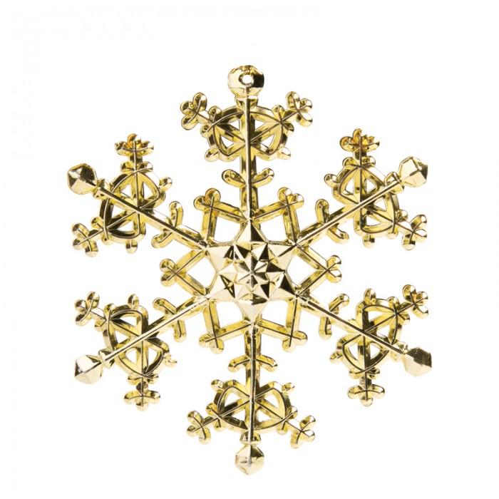 Елочные игрушки Феникс Презент Елочное украшение Снежинка 11х11 см елочное украшение золотой завиток 30 см