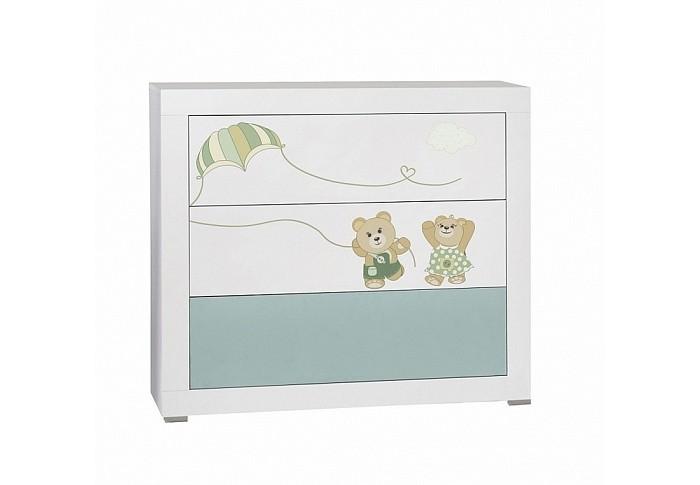 Детская мебель , Комоды Feretti Como Fabienne et Mathieu бельевой (3 ящика) арт: 351005 -  Комоды