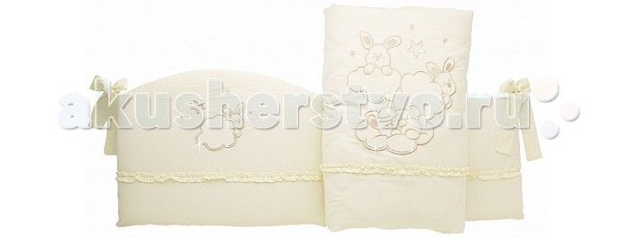 Постельные принадлежности , Бортики в кроватку Feretti Etoile Brilliante арт: 351270 -  Бортики в кроватку