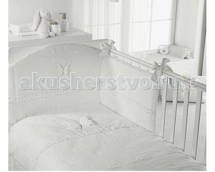 Постельные принадлежности , Комплекты в кроватку Feretti Sestetto high long (с удлинителем) Charme Brilliante (6 предметов) арт: 351595 -  Комплекты в кроватку