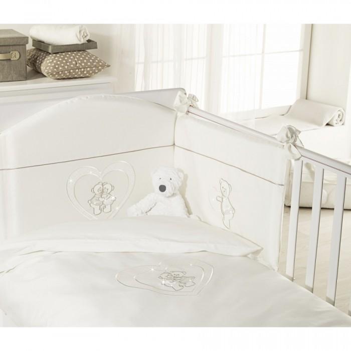 Постельные принадлежности , Комплекты в кроватку Feretti Sestetto high long (с удлинителем) Chaton (6 предметов) арт: 351605 -  Комплекты в кроватку