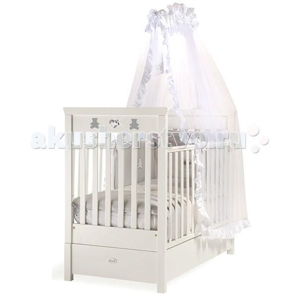 Картинка для Детская кроватка Feretti FMS Elite продольный маятник