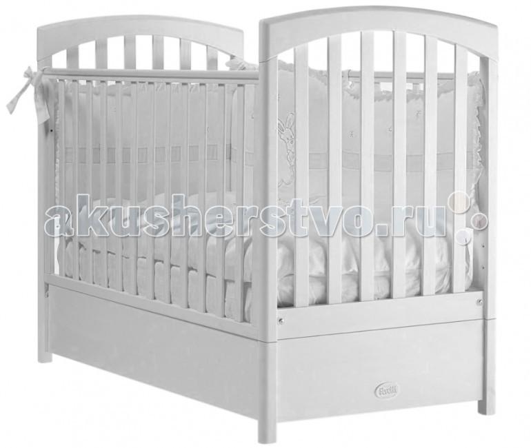 Картинка для Детская кроватка Feretti FMS Sauvage продольный маятник