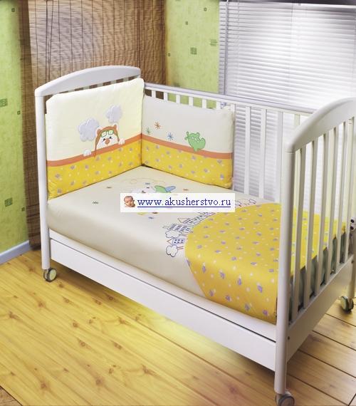Комплект в кроватку Feretti Jungle Sestetto Long (6 предметов)