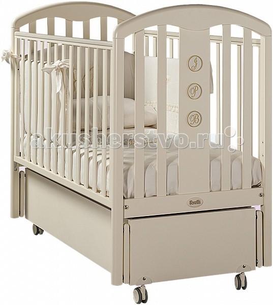 Детская мебель , Детские кроватки Feretti Elegance Swing продольный маятник арт: 50560 -  Детские кроватки