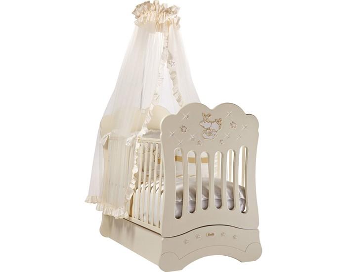 Детская кроватка Feretti FMS Etoile продольный маятник
