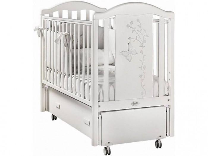 Фото Детские кроватки Feretti Privilege Swing продольный маятник