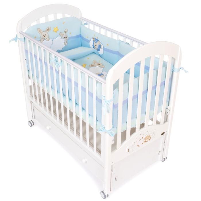Картинка для Комплект в кроватку Feretti Rabbit Sestetto Long (6 предметов)
