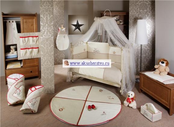 Комплект в кроватку Feretti Ricordo Sestetto Long (6 предметов)