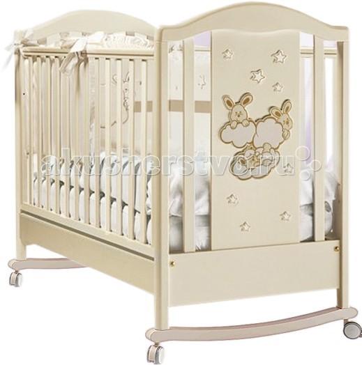 Детская кроватка Feretti Romance Dondolo качалка