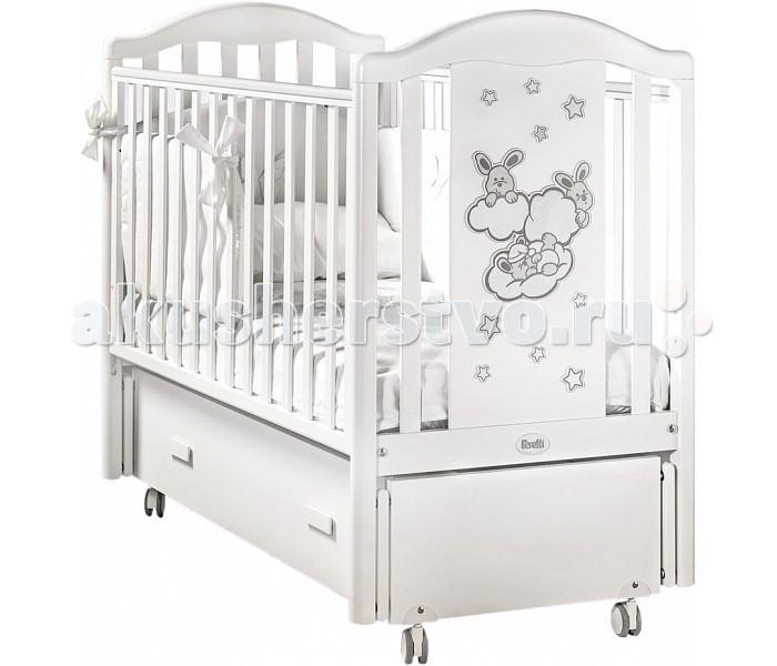 Детские кроватки Feretti Romance Swing продольный маятник детские кроватки kitelli kito amore продольный маятник