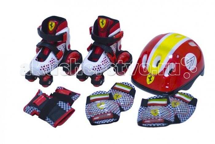 Детский транспорт , Роликовые коньки Ferrari Комплект для катания на роликах Skate Protector FX10-1 арт: 357370 -  Роликовые коньки