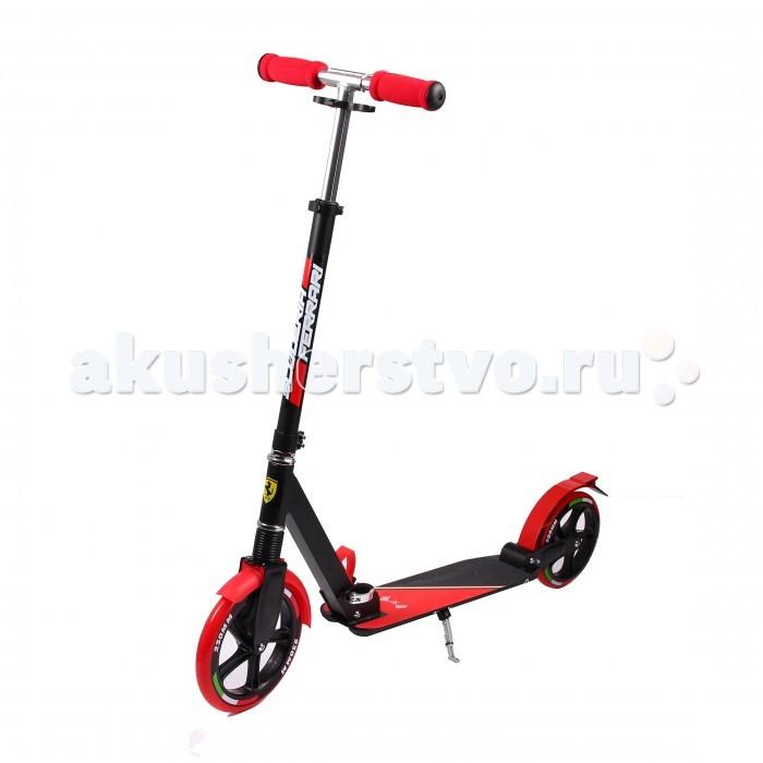 Двухколесный самокат Ferrari 2-wheel Scooter FXA-200/5 с функцией подвеса2-wheel Scooter FXA-200/5 с функцией подвесаДвухколесный самокат Ferrari 2-wheel Scooter FXA-200/5 с функцией подвеса принесет радость вашему ребенку.  Особенности: Возраст: 8+  Материал: алюминий Ручка: мягкая пена, стойкая к истиранию  Колеса: износостойкие матовые PU колеса Размер колес: 200 мм Подшипник abec-7  Оснащен подножкой.<br>