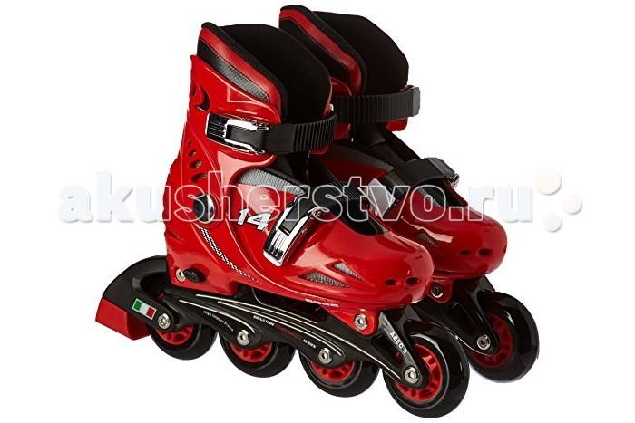Роликовые коньки Ferrari Kids Basic Skate FK-7Kids Basic Skate FK-7Роликовые коньки Ferrari Kids Basic Skate FK-7 принесут радость вашему ребенку.  Особенности: Возраст: 5+ Ботинок: ударопрочный материал PP Шасси: ударопрочный ПП Колеса: ПУ Размер колес: 70X24MM (М) Размер колеса: 72X24MM (L) Подшипник: abec-5 из углеродистой стали<br>