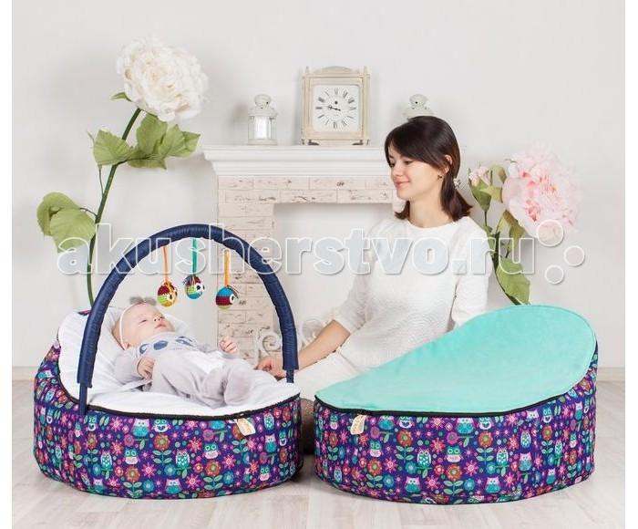 Позиционеры для сна Feter Кокон для новорожденных Baby Bean Bag Совы, Позиционеры для сна - артикул:481846