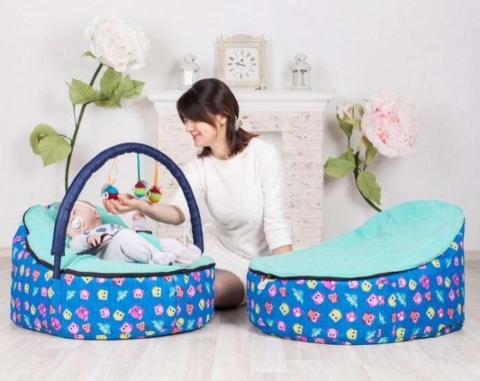 Постельные принадлежности , Позиционеры для сна Feter Кокон Baby Bean Bag Совы арт: 481051 -  Позиционеры для сна