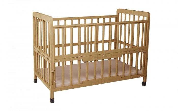 Детская кроватка Фея 403403Детская кроватка Фея 403 обеспечит уютный сон вашему малышу!  Подходит детям с рождения, до 3 лет кроватка используется с боковыми ограждениями, а после того, как ребенок подрос - трансформируется в более длинный вариант.  Особенности: 4 уровня высоты ложа, откидные боковые стенки, ортопедическое ложе 120х60см, подростковый вариант 160х60см. одна спинка откидывается для продолжения спального места, мягкое основание ложа толщиной 1см. (изножье 40х60 см.), колеса в комплекте, ящик в основании кровати с открывающейся дверкой, массив березы.  Габариты(ДхШхВ) – 124,8 х 67,5 х 105 см.<br>
