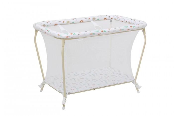 Детская мебель , Манежи Фея Классика Лесные друзья арт: 505716 -  Манежи