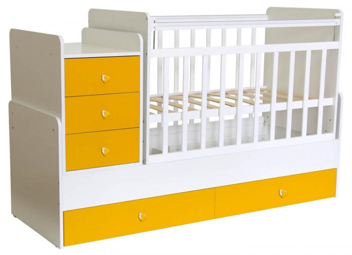 Купить Кроватки-трансформеры, Кроватка-трансформер Фея 1100