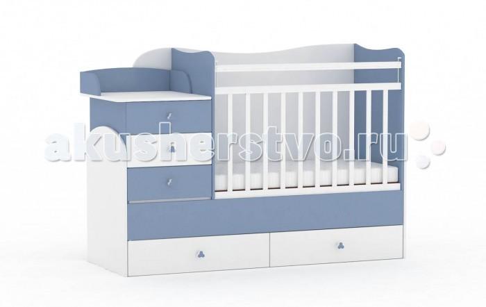 Купить Кроватки-трансформеры, Кроватка-трансформер Фея 1400
