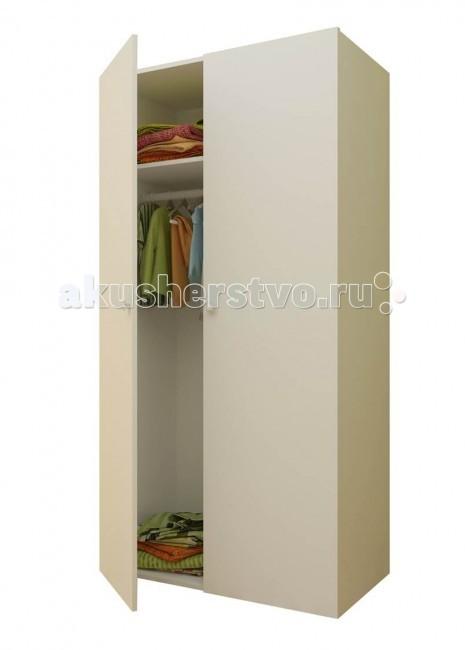 Шкаф Фея 2-х секционный2-х секционныйШкаф Фея 2-х секционный вместительный, с двумя отделениями.  В комплекте: 5 полок, штанга для одежды. Габариты изделия: (ВхШхГ) 190 х 89 х 50 см<br>