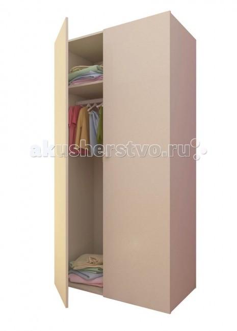 Детская мебель , Шкафы Фея 2-х секционный арт: 74716 -  Шкафы