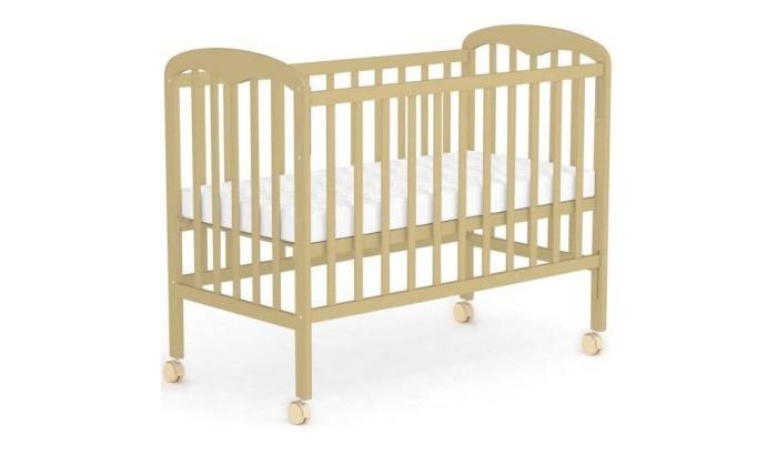 Детская кроватка Фея 323323Детская кроватка Фея 323 изготовлена из экологически чистых материалов и покрыта безопасным лаком.  Благодаря плавному качанию ребёнок быстрее засыпает. Кроватка изготовлена из массива берёзы, который сохраняет свои свойства на долгие годы. «Фея» 660 покрыта нетоксичным лаком, не издающим никаких запахов. Кроватка полностью безопасна: боковое ограждение не позволит малышу выпасть во время игр или сна.  Благодаря множеству цветовых вариаций можно приобрести данную кроватку под любой интерьер: как классический, так и в стиле модерн. «Фея» 660 довольно компактна, она не занимает много места. Легко собирается и разбирается, что позволяет с комфортом её транспортировать.  Особенности: Кнопка-механизм опускания боковины защитные накладки ПВХ ортопедическое основание более массивные спинки с уникальной формой царги 2 положения ложа<br>