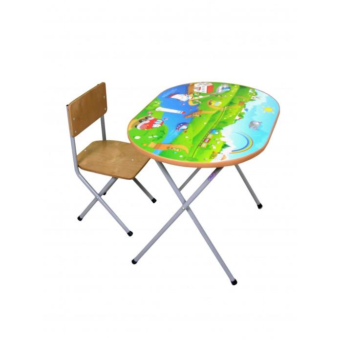 Детские столы и стулья Фея Комплект детской мебели Досуг №102