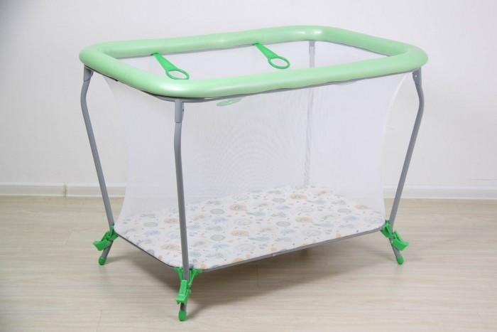 Детская мебель , Манежи Фея Классика Совы арт: 295207 -  Манежи