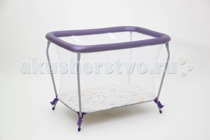 Детская мебель , Манежи Фея Классика Яркий луг арт: 295210 -  Манежи