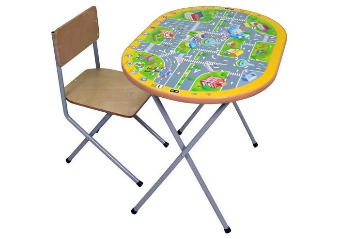 Купить Детские столы и стулья, Фея Комплект детской мебели Досуг №202