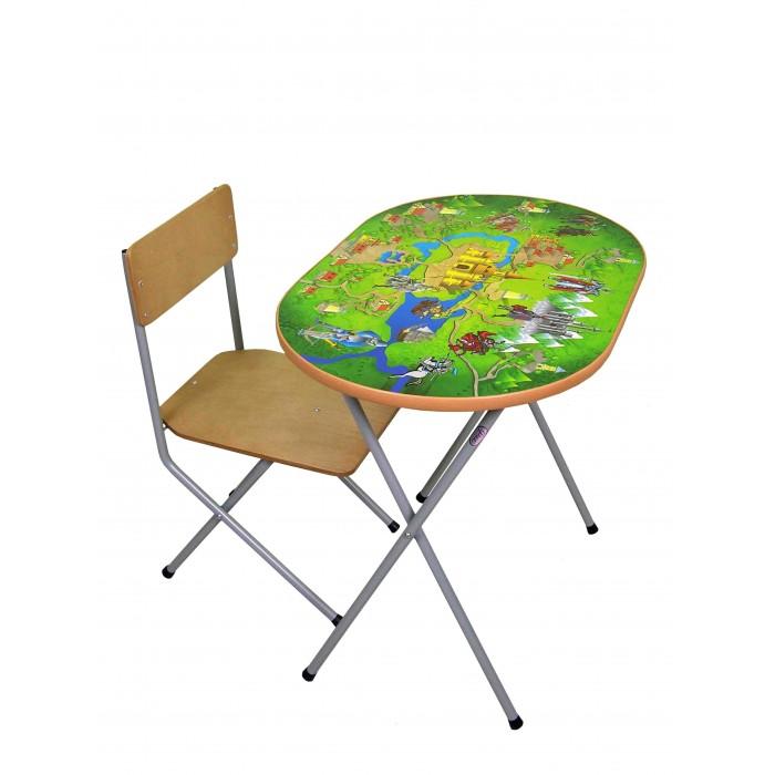 Детские столы и стулья Фея Комплект детской мебели Досуг №302