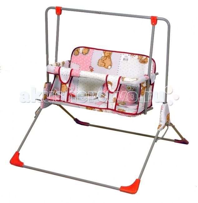 Качели Фея Малыш для двоих выдвижные кровати для двоих детей
