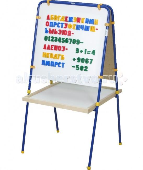 Доски и мольберты Фея Мольберт с буквами b dot 68651 складной мольберт для рисования с фломастерами и мелками