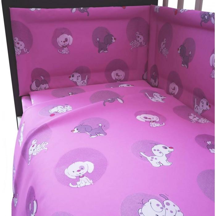 Купить Комплекты в кроватку, Комплект в кроватку Фея Наши друзья 120х60 (6 предметов)