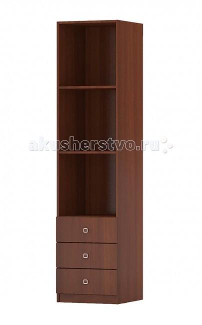 Детская мебель , Шкафы Фея Стеллаж с ящиками арт: 74715 -  Шкафы