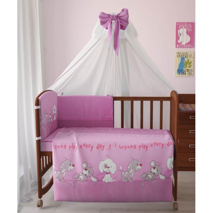 Купить Комплекты в кроватку, Комплект в кроватку Фея Веселая игра 120х60 (7 предметов)