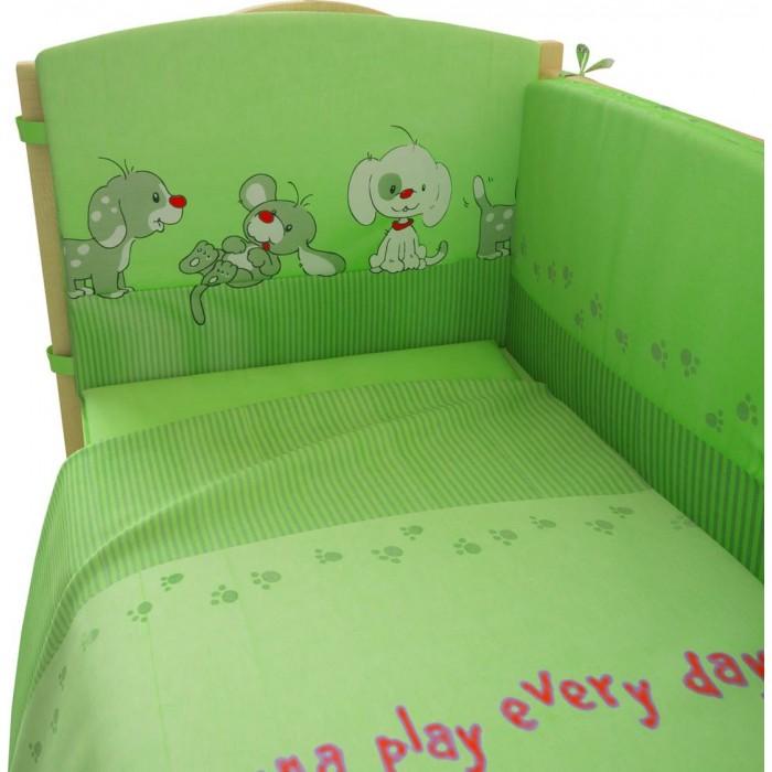 Комплекты в кроватку Фея Веселая игра 140х70 (7 предметов) комплекты в кроватку fairy жирафик 140х70 7 предметов