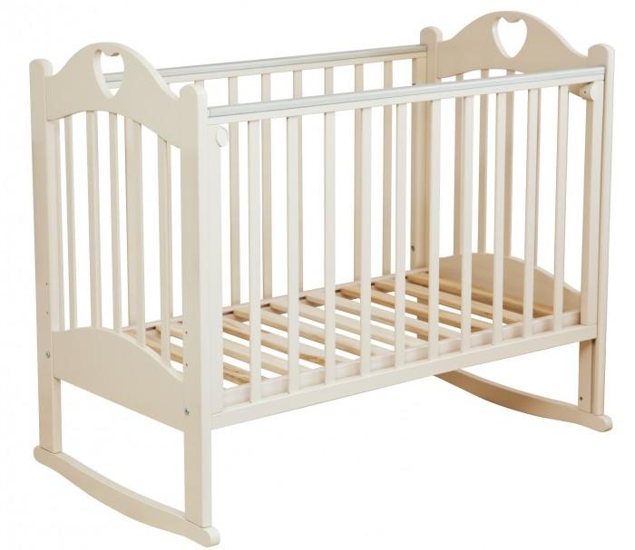 Детская кроватка Можга (Красная Звезда) Любаша С-635 качалка