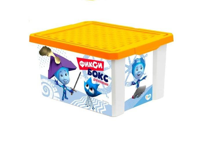 Картинка для Ящики для игрушек Фиксики Ящик для хранения игрушек 12 л