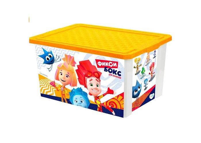 Купить Ящики для игрушек, Фиксики Ящик для хранения игрушек 57 л