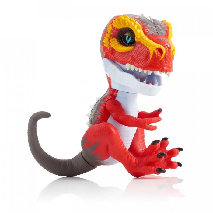 Купить Интерактивные игрушки, Интерактивная игрушка Fingerlings Динозавр 12 см