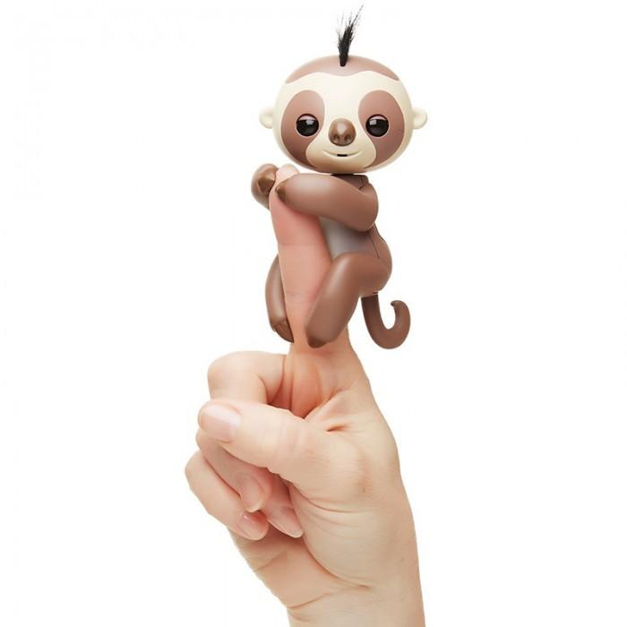 Интерактивная игрушка Fingerlings Ленивец  12 см