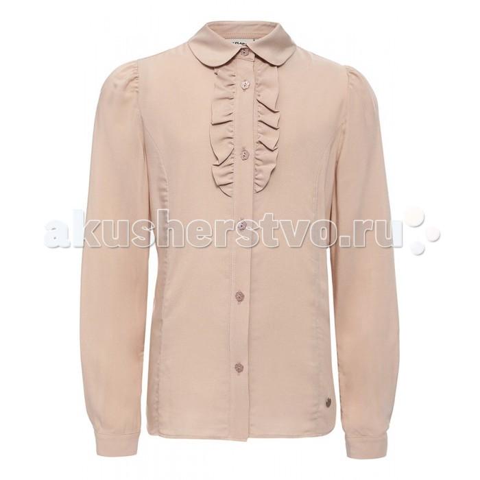 Детская одежда , Блузки и рубашки Finn Flare Kids Блузка для девочки KA16-76010 арт: 351435 -  Блузки и рубашки