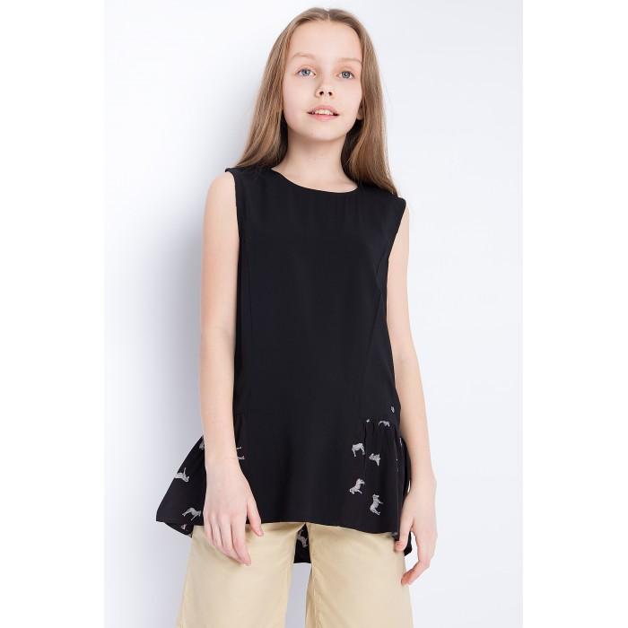 Блузки и рубашки Finn Flare Kids Блузка для девочки KS18-71045 блузка finn flare kids блузка