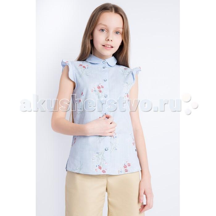 Детская одежда , Блузки и рубашки Finn Flare Kids Блузка для девочки арт: 514011 -  Блузки и рубашки